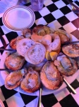 Chargrilled oysters...delicious.